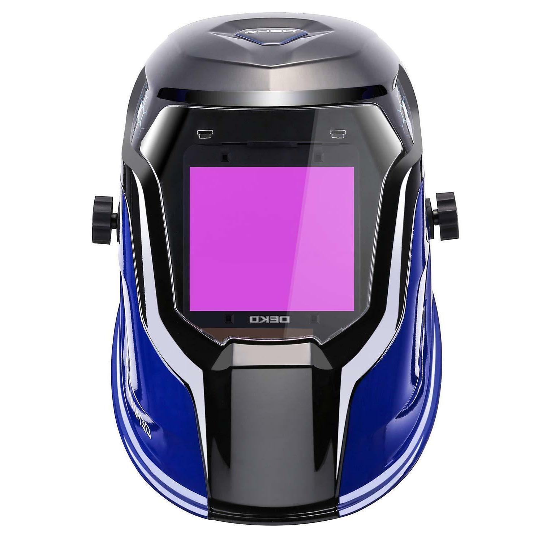 DEKO Solar Helmet Auto Professional Hood
