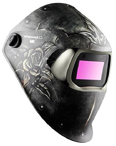 speedglas steel rose welding helmet