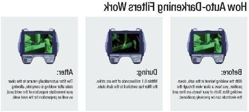 3M Speedglas 100 Tribute Auto-Darkening Filter Safety, Shades 8-12