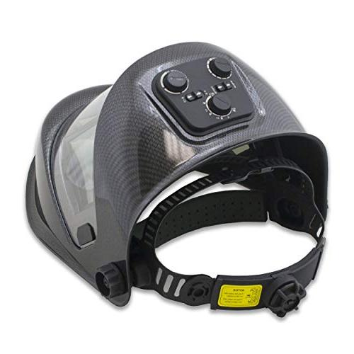 TGR Panoramic 180 View Solar Powered Welding Helmet - Color