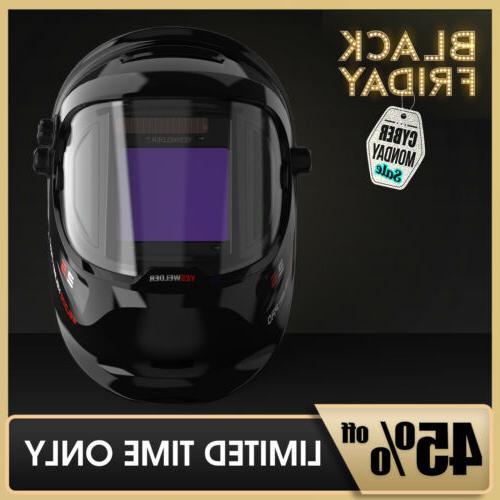 true color weld mask hood auto darkening