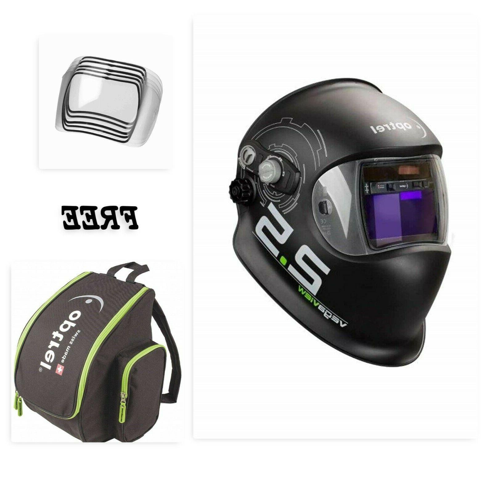 vegaview 2 5 welding helmet with free