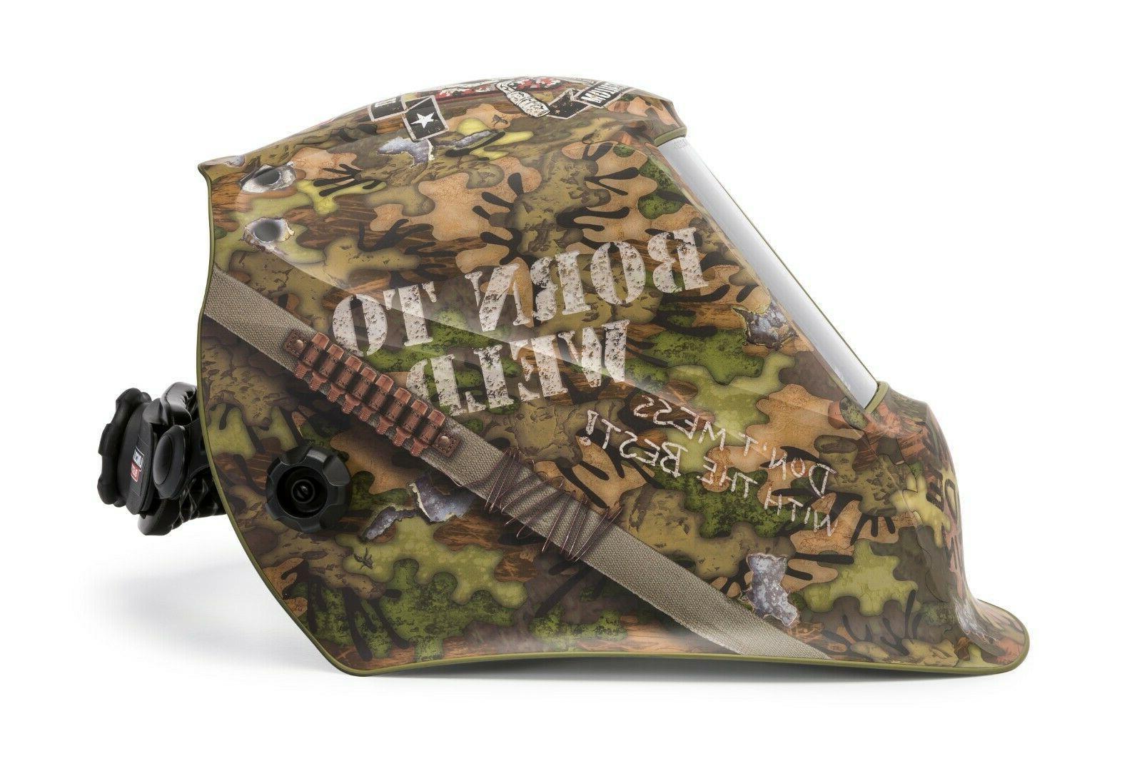 Lincoln BORN Welding Helmet K3616-3
