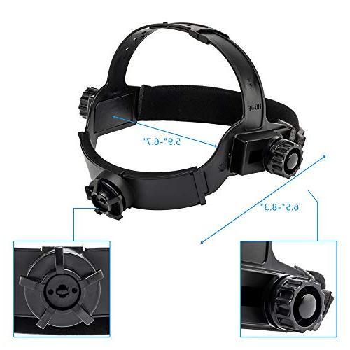 Z ZTDM Welding Mask Auto Shade Range DIN DIN ARC TIG,2pcs Extra Lens+CR2032 EN379 Z87.1
