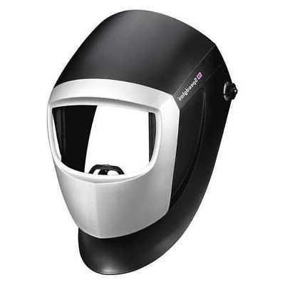 welding helmet passive type black silver 04