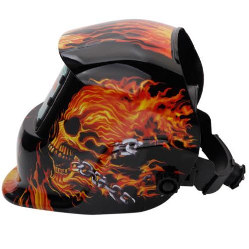 Welding Helmet pro Auto Darkening Mig Certified Mask Grinding 107