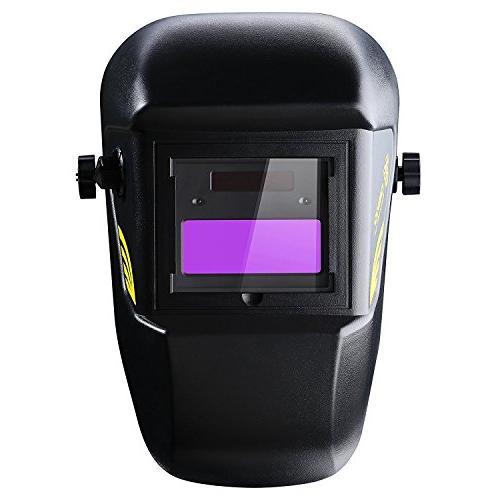DEKOPRO Welding Helmet Powered Auto with Adjustable Shade 4/9-13 Arc Welder Mask