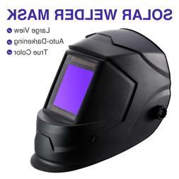 Large View Area Solar Welding Mask Auto-Darkening True Color