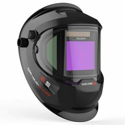 Large View True Color Auto Darkening Welding Helmet/ Mask/ H