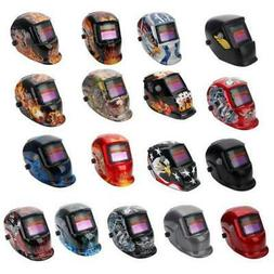 Lot Auto-Darkening Pro Solar Security Welding Helmet Grindin