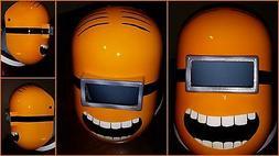 minions welding helmet pipeliner helmet