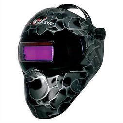New Save Phace GEN X Series Welding Helmet - Black Asp 180 d