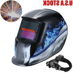Pro Large View Area True Color Solar Welder Helmet Auto-Dark
