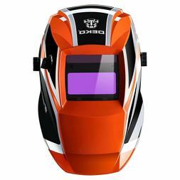 dekopro solar auto darkening welding helmet arc