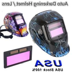 Pro Solar Auto Darkening Welding Helmet Tig  Grinding Welder