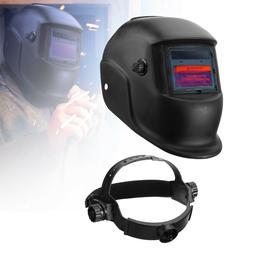 Pro Solar Powered Auto Darkening Welding Helmet Arc TIG MIG