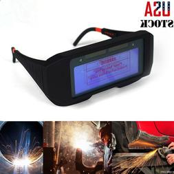 Pro Solar Powered Auto Darkening Welding Mask Helmet Eyes Go