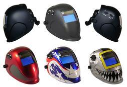 ArcOne Python Auto Darkening Welding Helmet with Digital 550