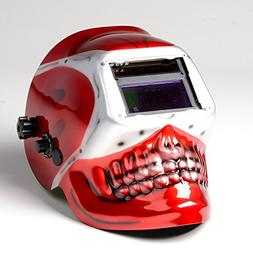 ATE Pro. USA 41112 Red Skull Auto Darkening Lens Solar Weldi