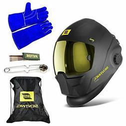 ESAB Sentinel A50 Automatic Helmet, BAG, WELDING GLOVE, STRI