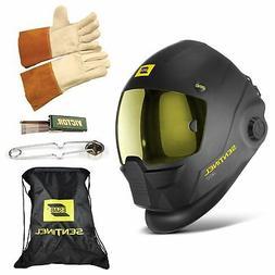 ESAB Sentinel A50 Automatic Welding Helmet, BAG, TIG GLOVE,