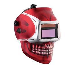 skull designed auto darkening welding