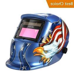 Coocheer Solar Arc Tig Mig Auto-Darkening Welding Helmet MIG