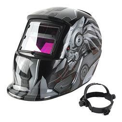 Solar Auto Darkening Welding Helmet TIG MIG Weld Welder Lens