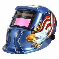 Generic Professional Solar Auto-Darkening Welding Helmet Arc