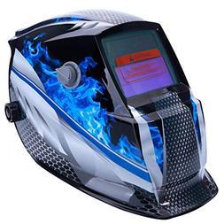 OxiQmart Pro Solar Auto Darkening Welding Helmet Mask Arc Ti