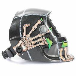 Solar Auto Darkening Welding Helmet Arc Tig Mig Mask Grindin