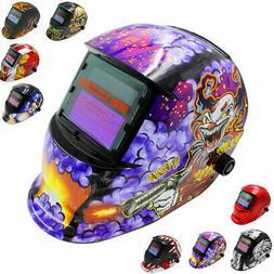 Solar Auto Darkening Welding Helmet Grinding Welder Mask Too