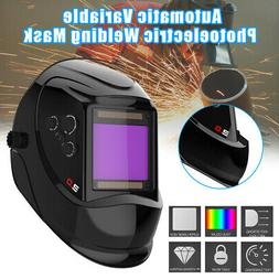 Solar Auto Darkening Welding Helmet Large View Area Arc Tig