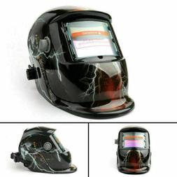 Solar Auto Darkening Welding Helmet TIG MIG Welder Lens Grin