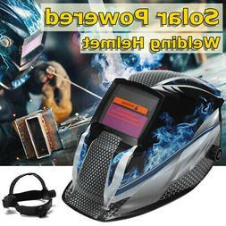 AUDEW Solar Auto Darkening Welding Helmet Welder Mask Grind