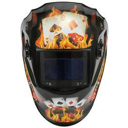 Solar Energy Automatic Changing Light Mask Welding Helmet 4p