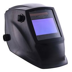 TOPDC Solar Power Auto Darkening Welding Helmet with Optical
