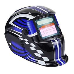 Holulo Solar Power Auto Darkening Welding Helmet with Wide S