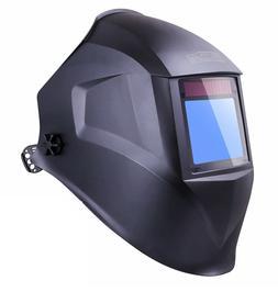 Solar Power Welding Helmet with Larger Viewing Area