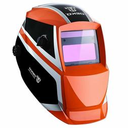 DEKO Solar Powered Auto Darkening Welding Helmet with Adjust