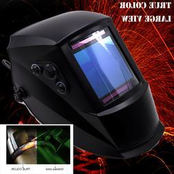 True Color + 4'x3.7' View + 2in1 Grind Welding Helmet TIG We