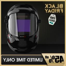 True Color Weld Mask Hood Auto Darkening Welding Helmet Side
