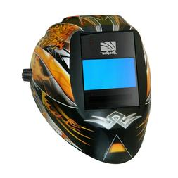 "ArcOne Vision Welding Helmet with Digital Industrial 5"" x 4"""