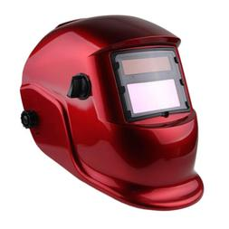 Solar Pro Auto Darkening Welding Helmet Arc Welders Mask Adj