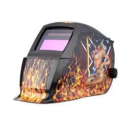 TOOGOO Professional Welder Mask Solar Automatic Darkening We