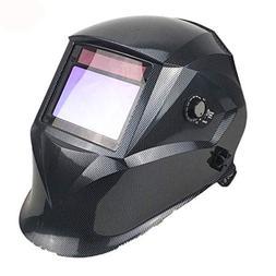 Welding Helmet, 4 Sensors Solar Power Auto Darkening, Full S