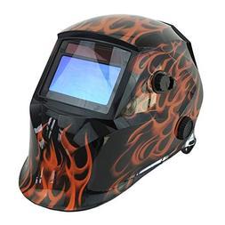 Welding Helmet, 4 Sensors Solar Power Auto Darkening, Shade