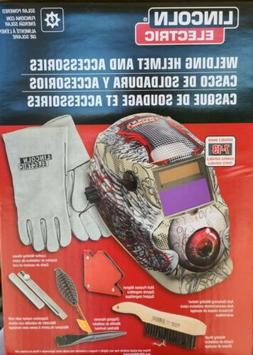 LINCOLN ELECTRIC WELDING HELMET AND ACCESSORIES, NEW