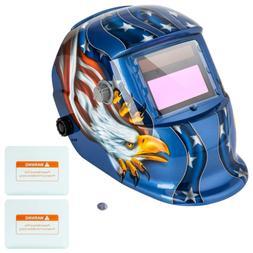 Z ZTDM Welding Helmet Auto Darkening, Pro Solar Powered Hood