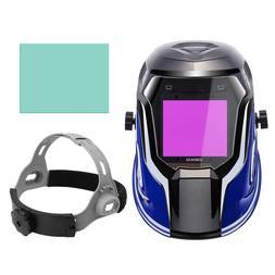 DEKO Welding Helmet Auto Darkening Professional Hood welding